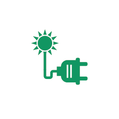 off grid system icon